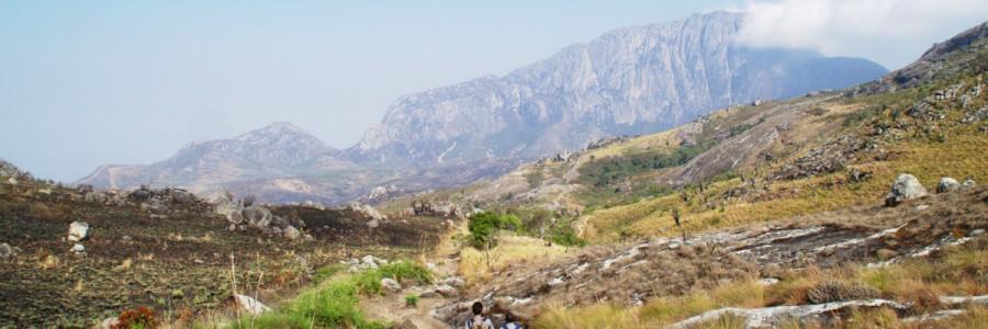 Wandern auf dem Mulanje Massiv, Malawi - Chombe