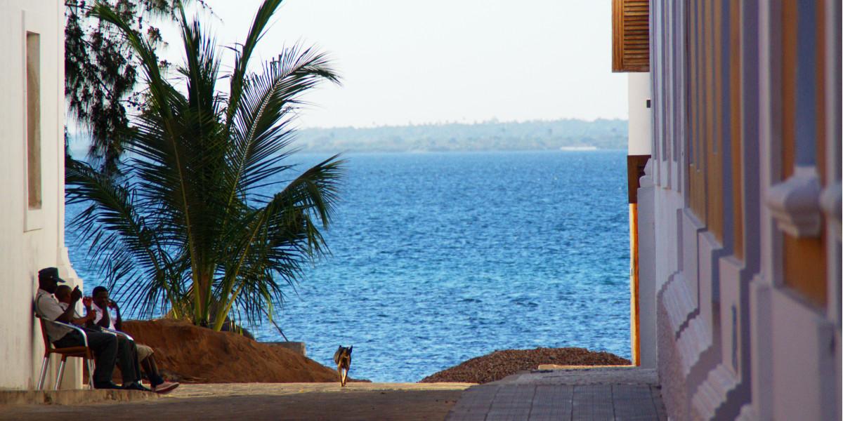 Sonnenuntergang über Ilha de Moçambique