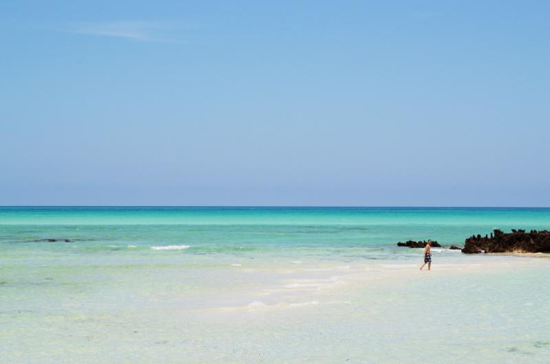 Ilha de Moçambique: Der Indische Ozean...