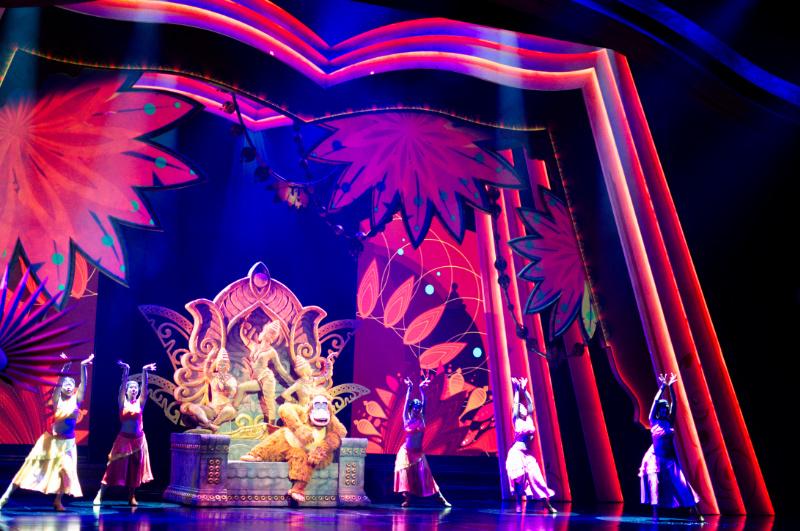 Das Dschungelbuch in der Show Mickey and the Wondrous Book in Hong Kong Disneyland
