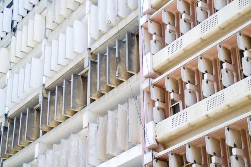 Moderne Architektur in Maputo, Mosambik