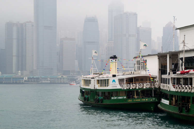 Hongkong: Mit der Star Ferry nach Central