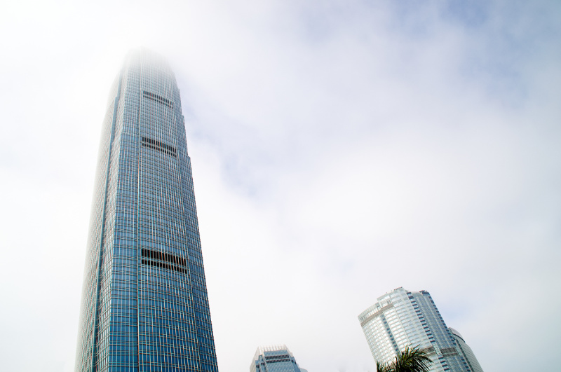 Hongkong: Financial Center Hochhaus
