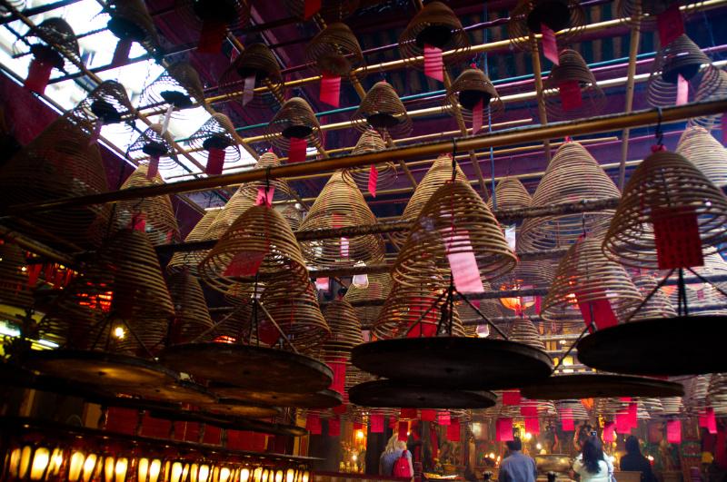 Hongkong: Tempel