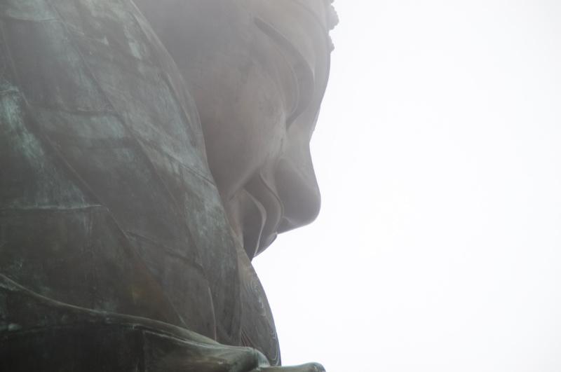 Hongkong: die Nase des großen Buddha