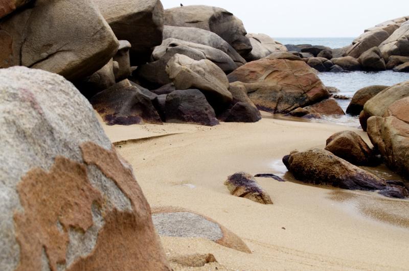 Hongkong: Strand auf Lamma Island