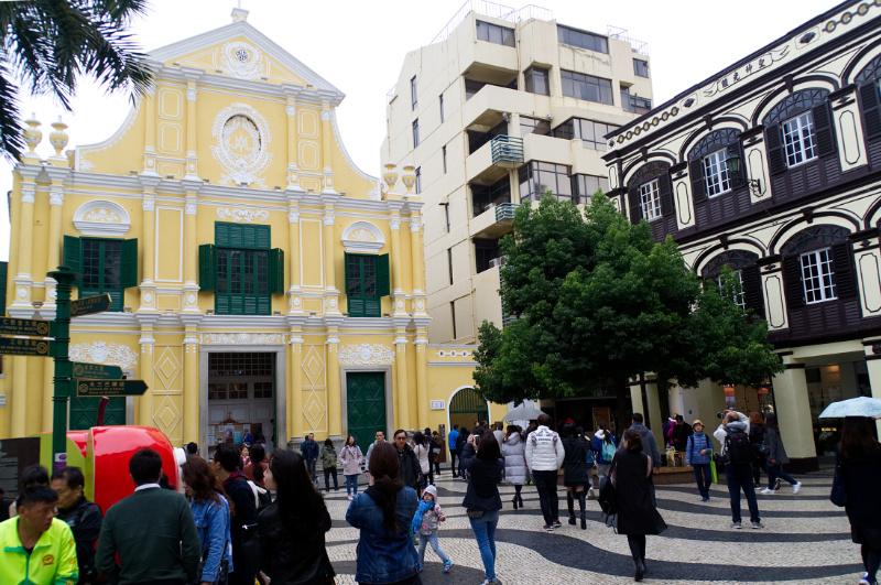 Macau: Kirche in der Altstadt