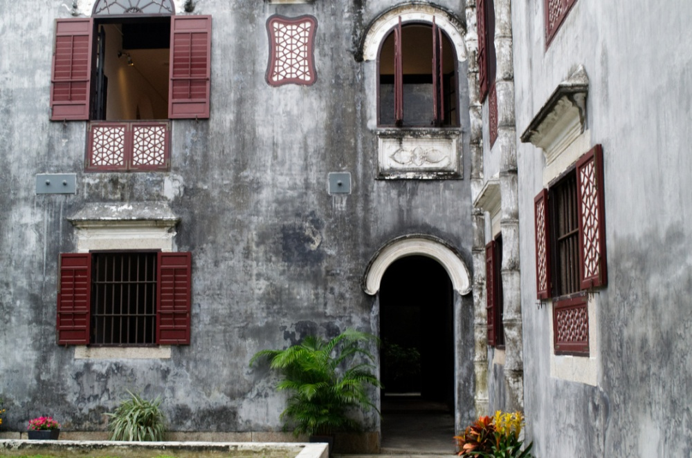 Macau: Hof im Haus des Mandarin