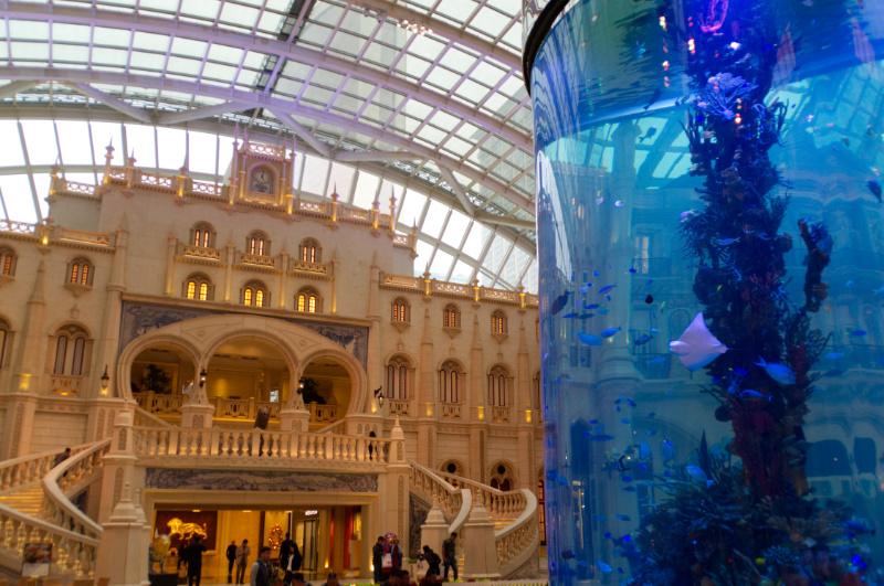 Macau: Aquarium im MGM Casino