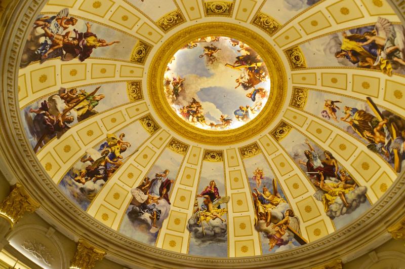 Macau: Deckengemälde im Venetian-Casino