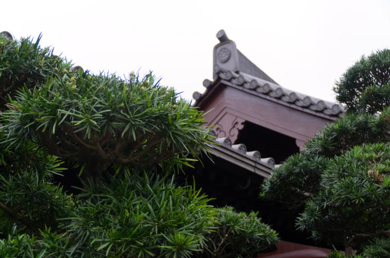 Hongkong: Traditionalles Haus im Nan Lian Garden