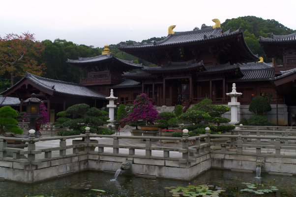 Hongkong: Chin Lin Nunnery