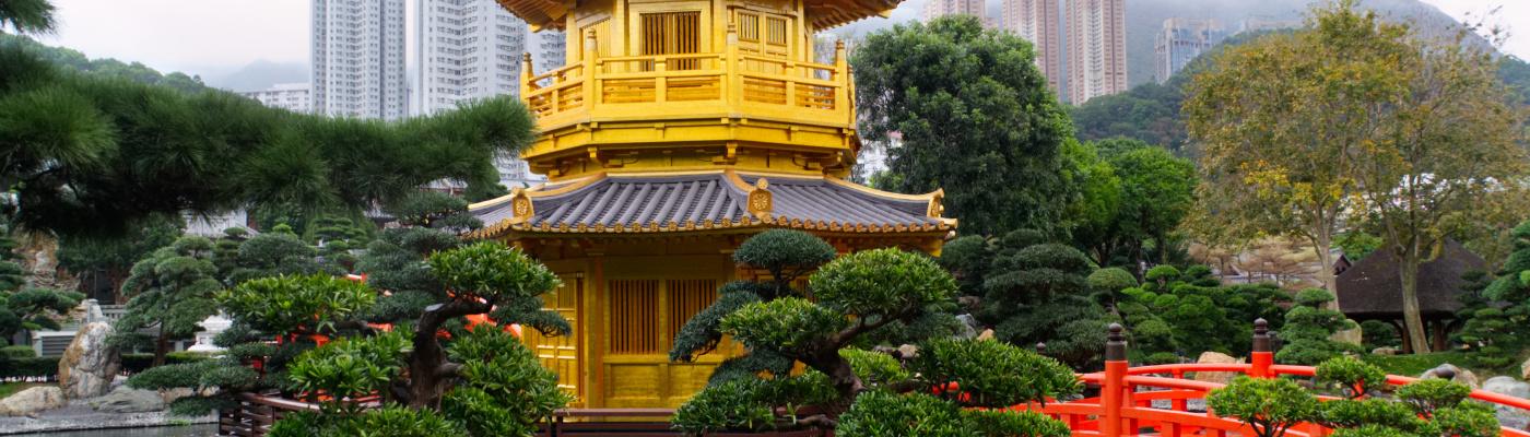 Hongkong: Spaziergang im Nan Lian Garden