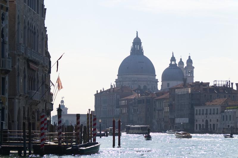 Venedig: Der Canal Grande im Morgenlicht