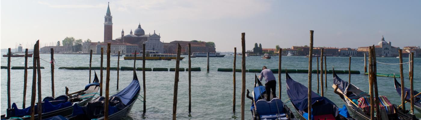 Venedig: Blick über Lagune