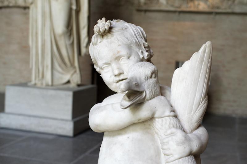 Glyptothek in München: Der Junge mit der Gans
