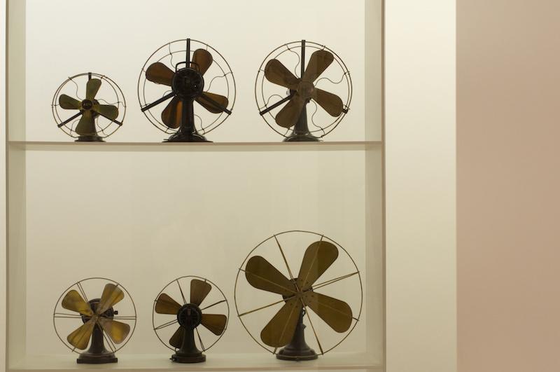 Pinakothek der Moderne: Design von Ventilatoren