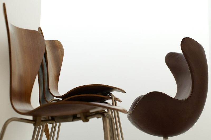 Pinakothek der Moderne: Produktdesign von Stühlen