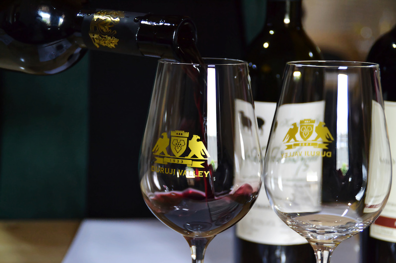 Wein-Probe in Georgien