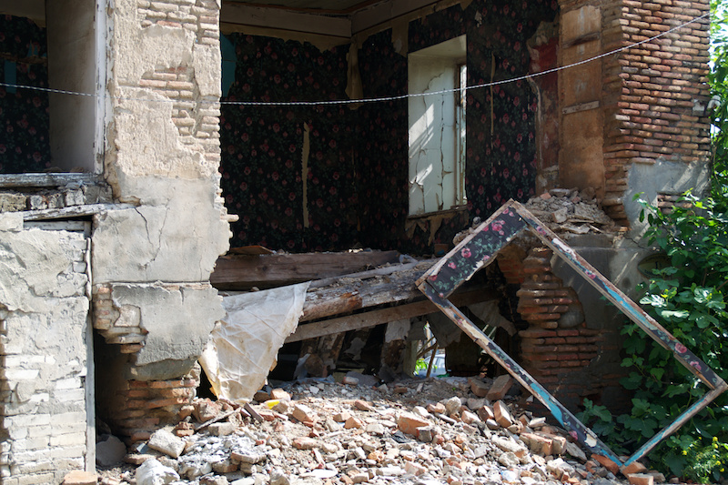 Ruine in Tiflis