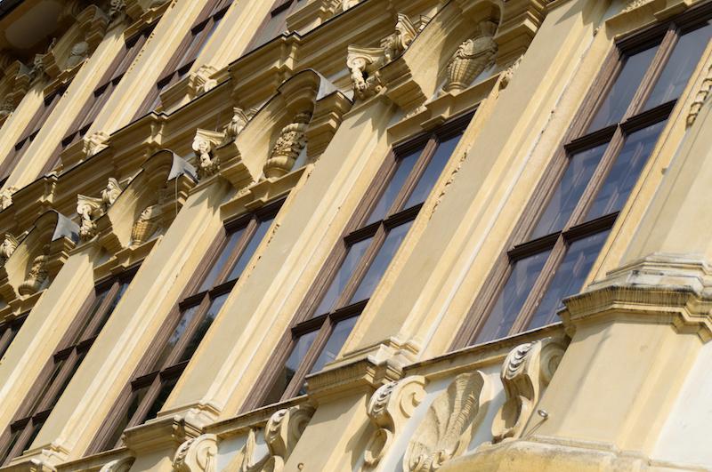 Prunkvolle Fassade in Graz