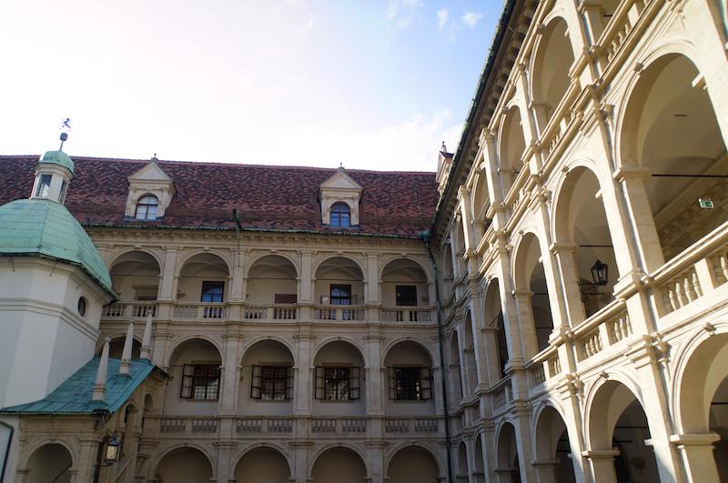 Innenhof des Landhauses in Graz