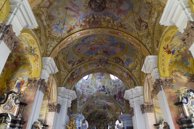 Das barocke Innere von Mariatrost