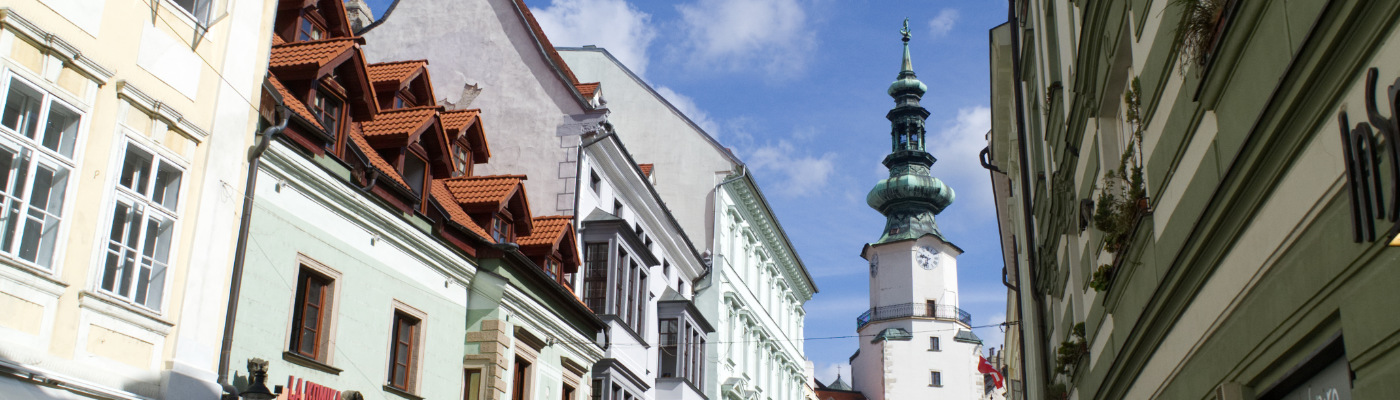In der Altstadt von Bratislava