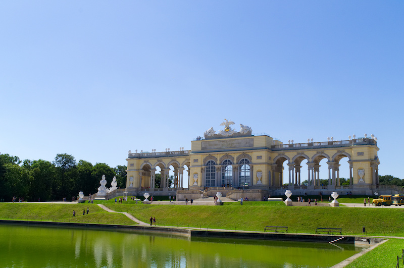 Das Bellevue im Schlosspark Schönbrunn