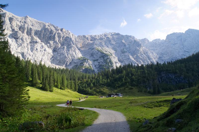 Alpental in der Nähe von Garmisch-Partenkirchen