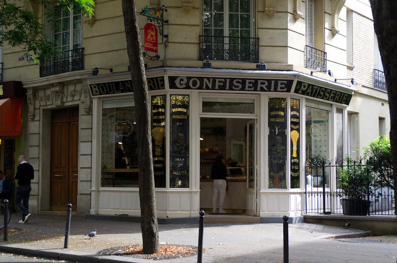 Kleine Bäckerei in Montmartre