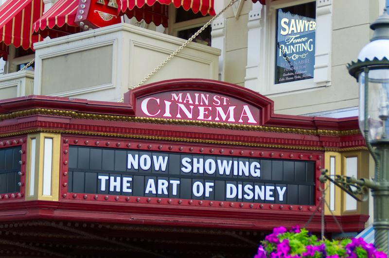 Ein altes Kino auf der Main Street in Walt Disney World