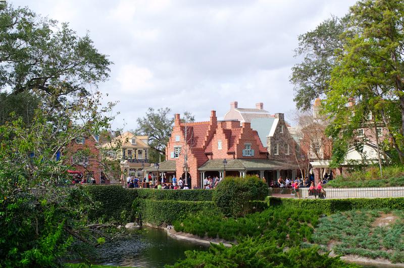 Die Häuschen von Liberty Square in Walt Disney World