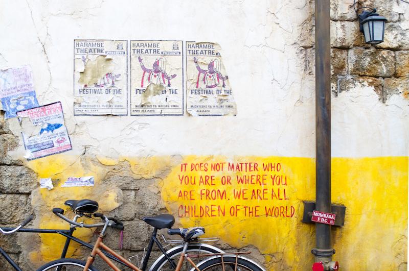 Wand in Afrika