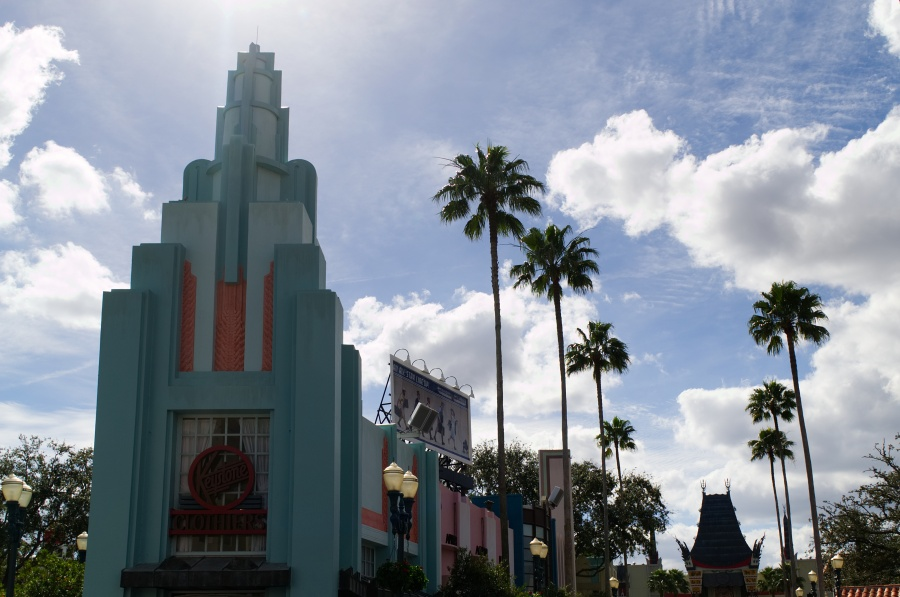 Der Hollywood Boulevard mit dem Chinese Theater in Walt Disney World