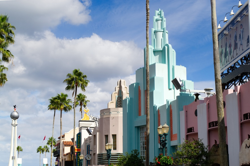 Der Hollywood Boulevard in Disney's Hollywood Studios