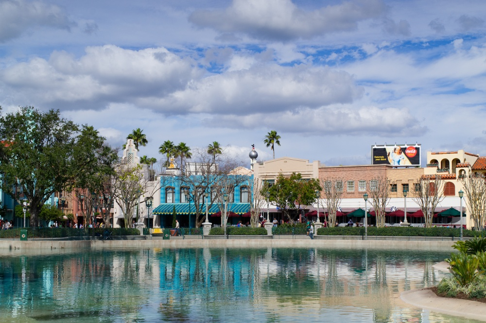 Echo Lake in Disney World's Hollywood Studios