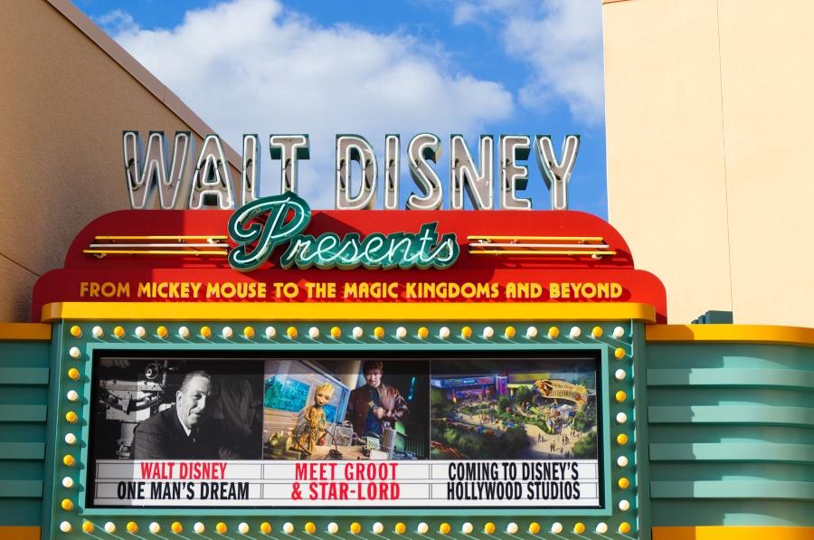 Tafel für Walt Disney Presents in Disney's Hollywood Studios