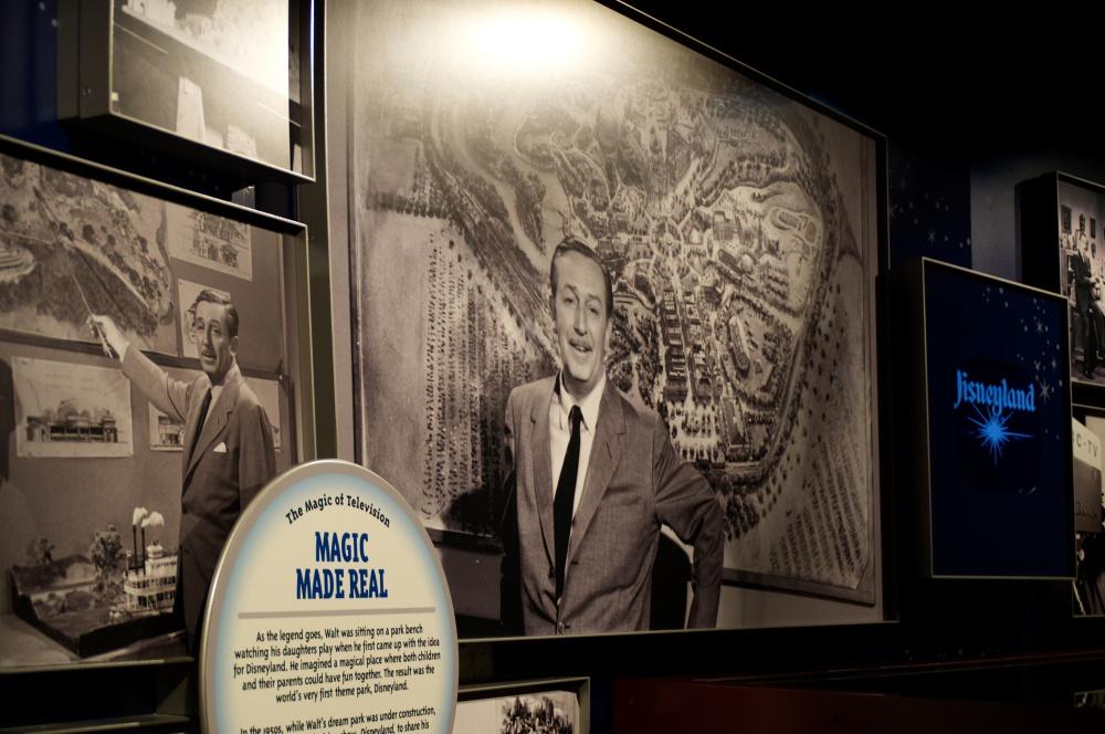Ausstellung mit Fotos von Walt Disney