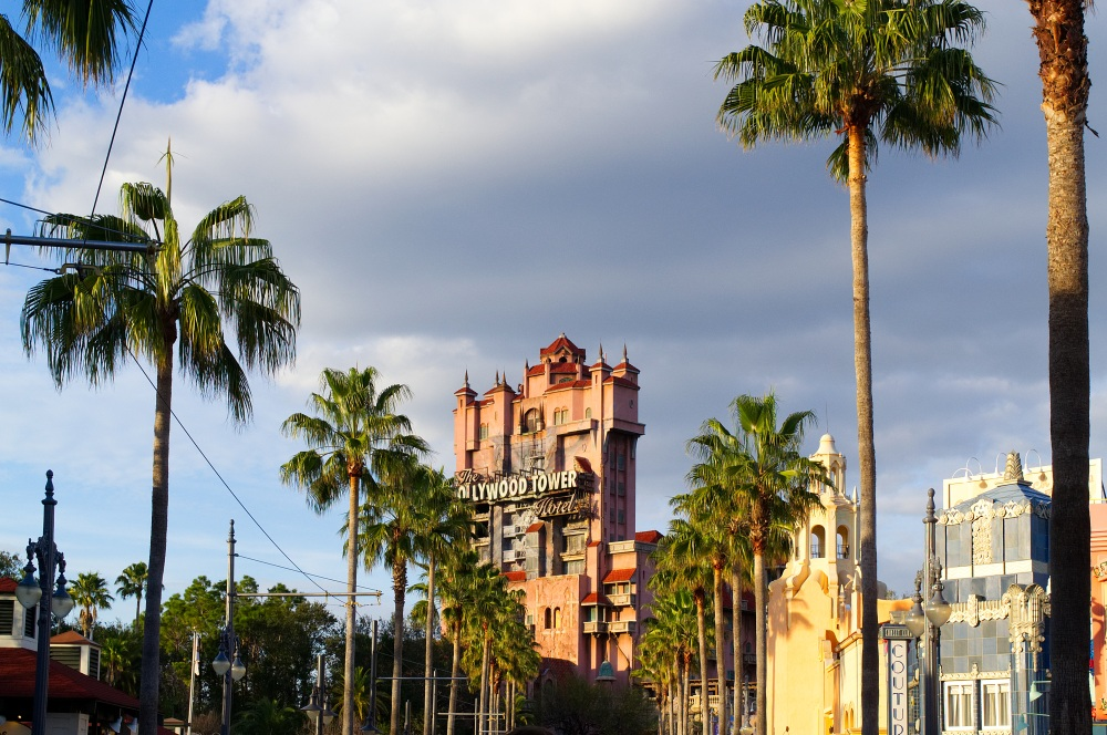 Der Tower of Terror in Walt Disney World