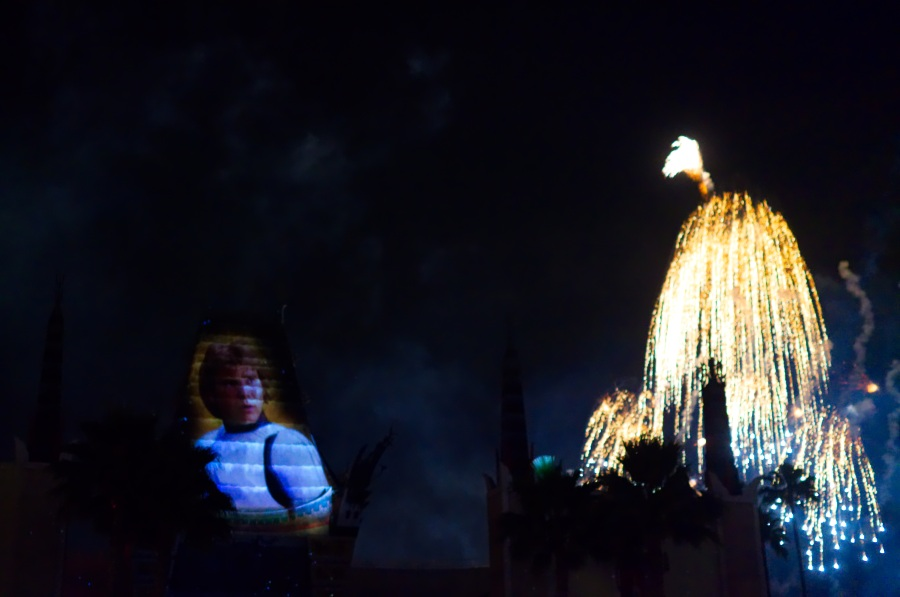 Star Wars Feuerwerk in Disney's Hollywood Studios