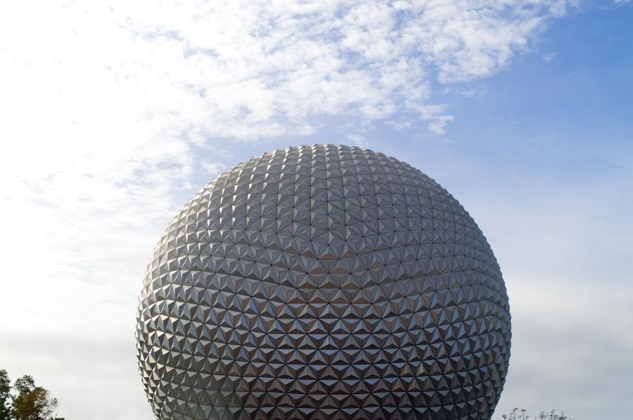 Spaceship Earth: die silberne Kugel in Walt Disney World