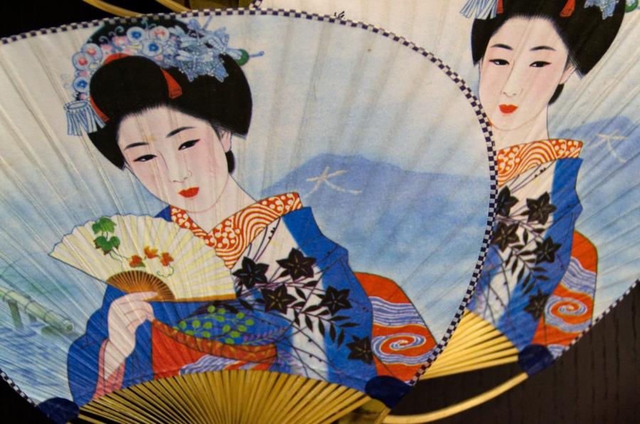 Japanische Fächer