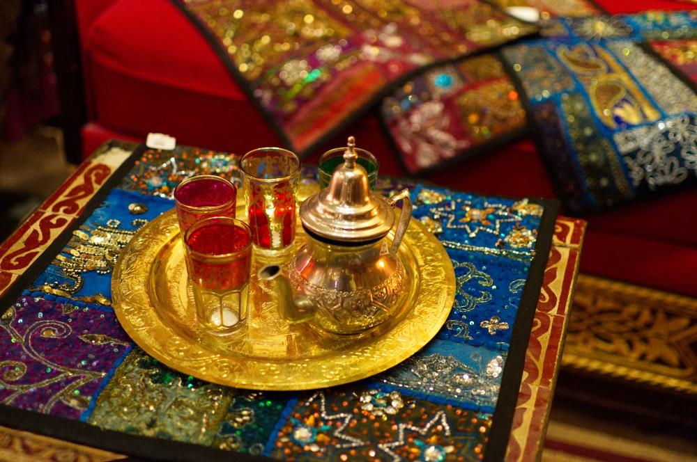 Teeset in Marokko