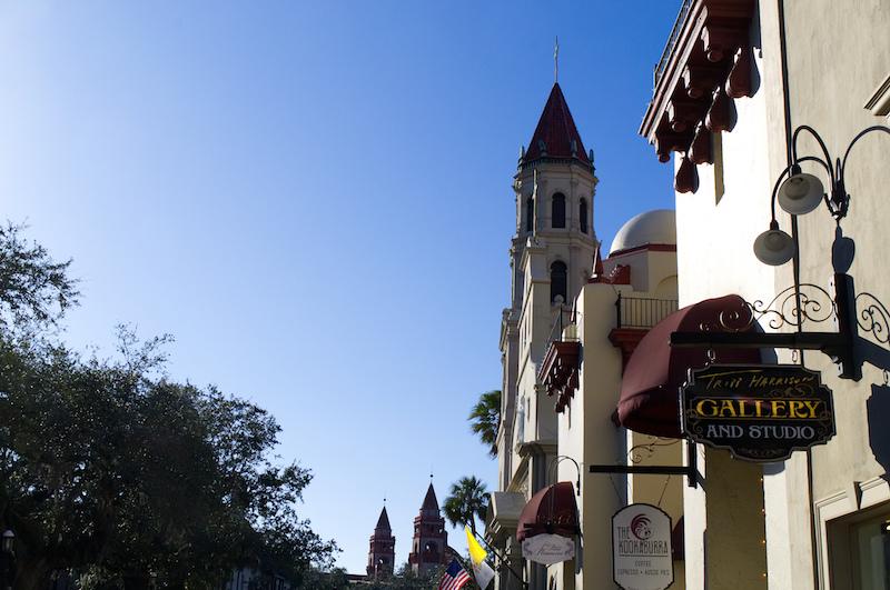 Kirchturm in St. Augustine, Florida