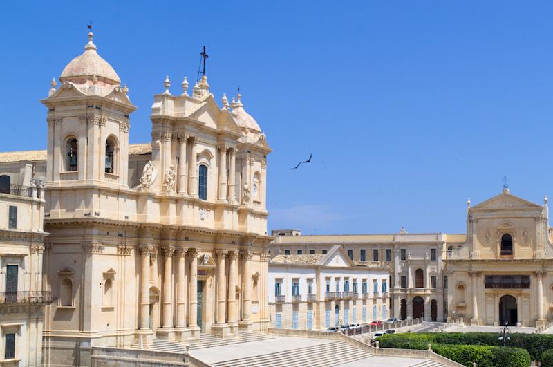 Die barocke Kathedrale von Noto