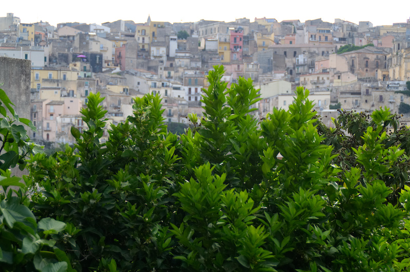 Die Oberstadt von Ragusa