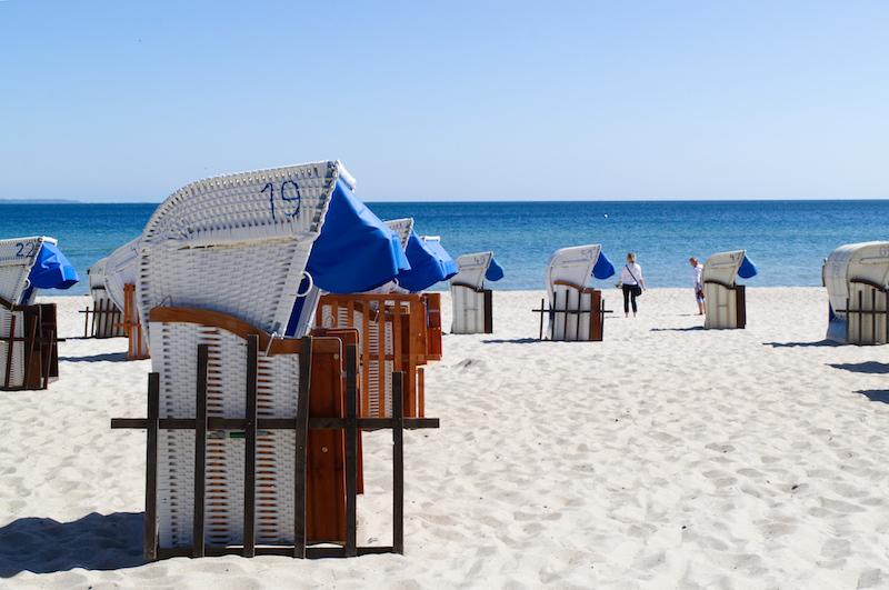 Weiße Stranddörfer am Timmendorfer Strand