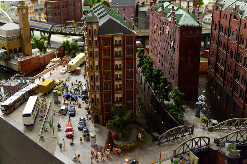 Hamburger Speicherstadt im Miniaturwunderland