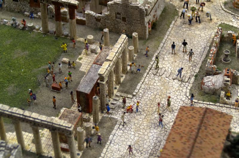 Pompeii im Miniaturwunderland
